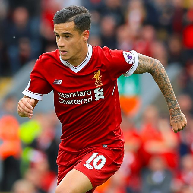 Liverpool's Philippe Coutinho (Peter Byrne/PA)