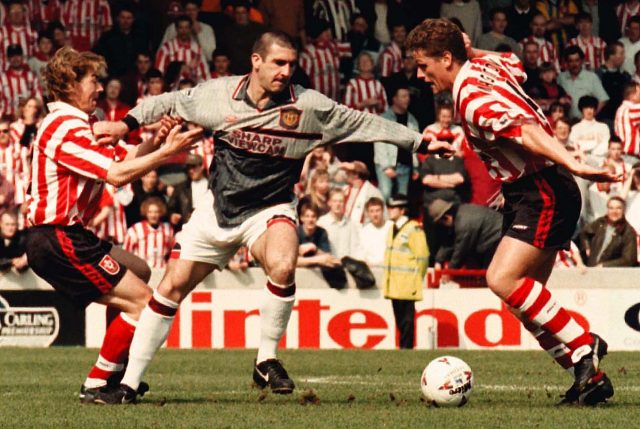 96efb09cbc1 Manchester United ditched their grey kit at half-time during a game against  Southampton