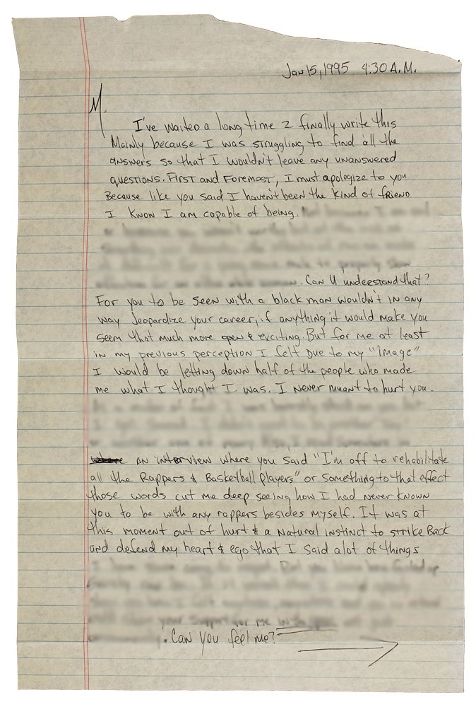 Tupac broke up with Madonna over race issues – prison letter - The