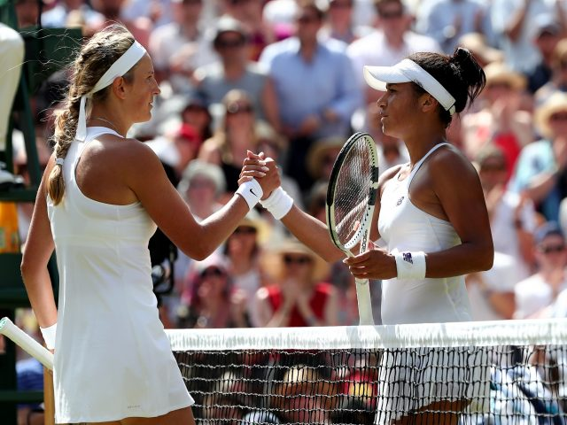 Watson out of Wimbledon after narrow loss to Azarenka