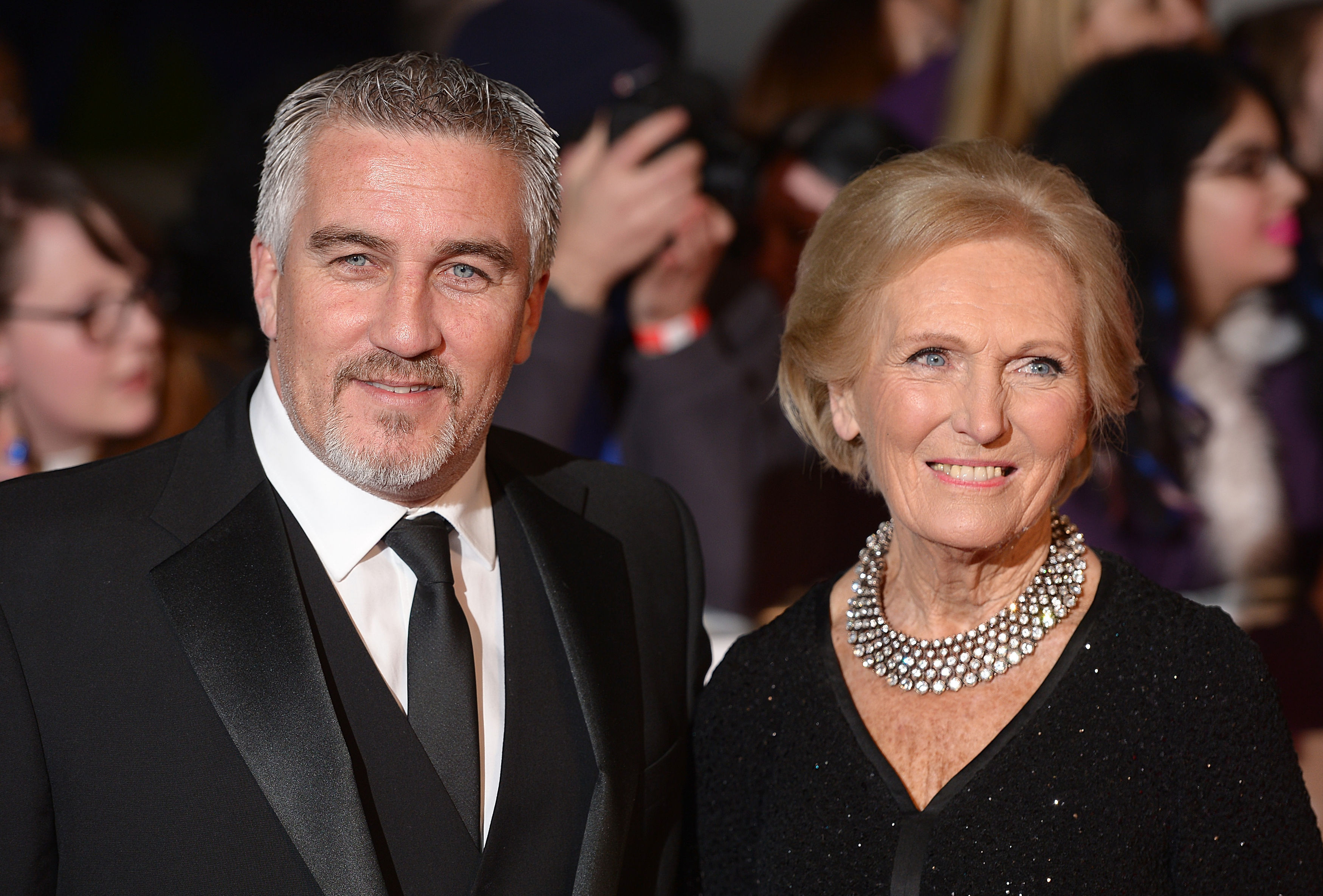 Paul Hollywood and Mary Berry (Dominic Lipinski/PA)