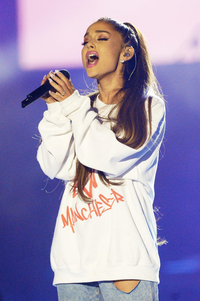90fd107177a96 Ariana Grande performing during the One Love Manchester benefit concert  (Dave Hogan for One Love Manchester PA)