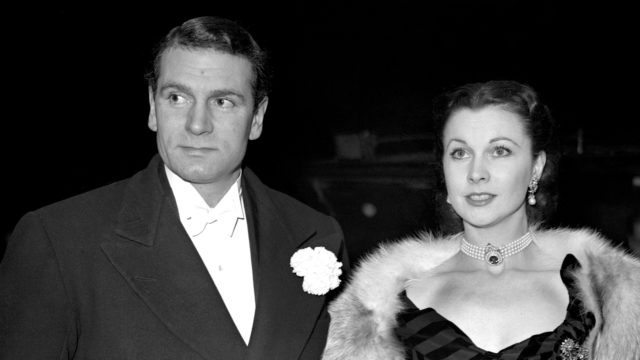 Laurence Olivier and Vivien Leigh (PA)