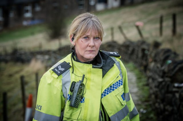 Sarah Lancashire as Catherine in Happy Valley (BBC/PA)