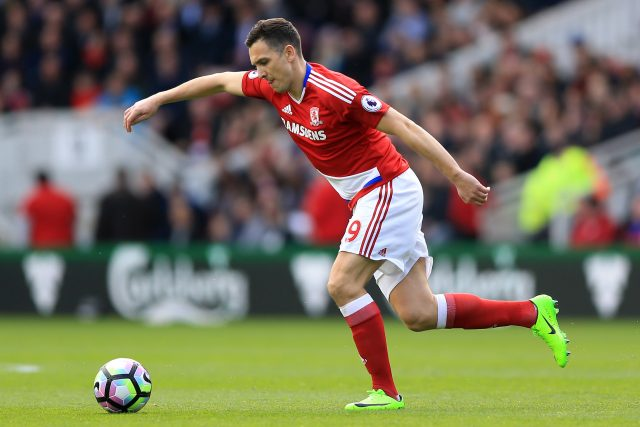 Stewart Downing was released by Middlesbrough at the end of the season