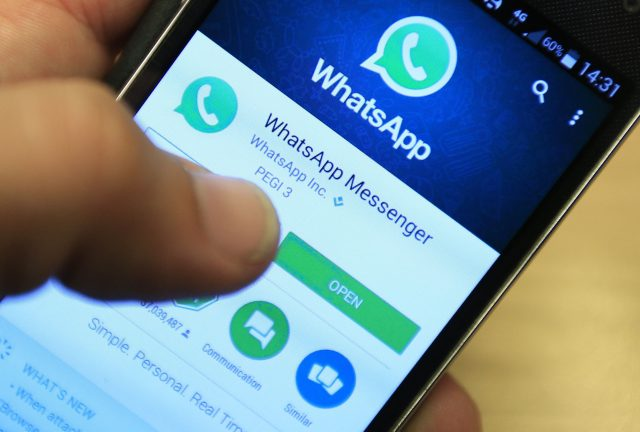 Westminster terrorist Khalid Masood used encrypted messaging app WhatsApp (Jonathan Brady/PA)