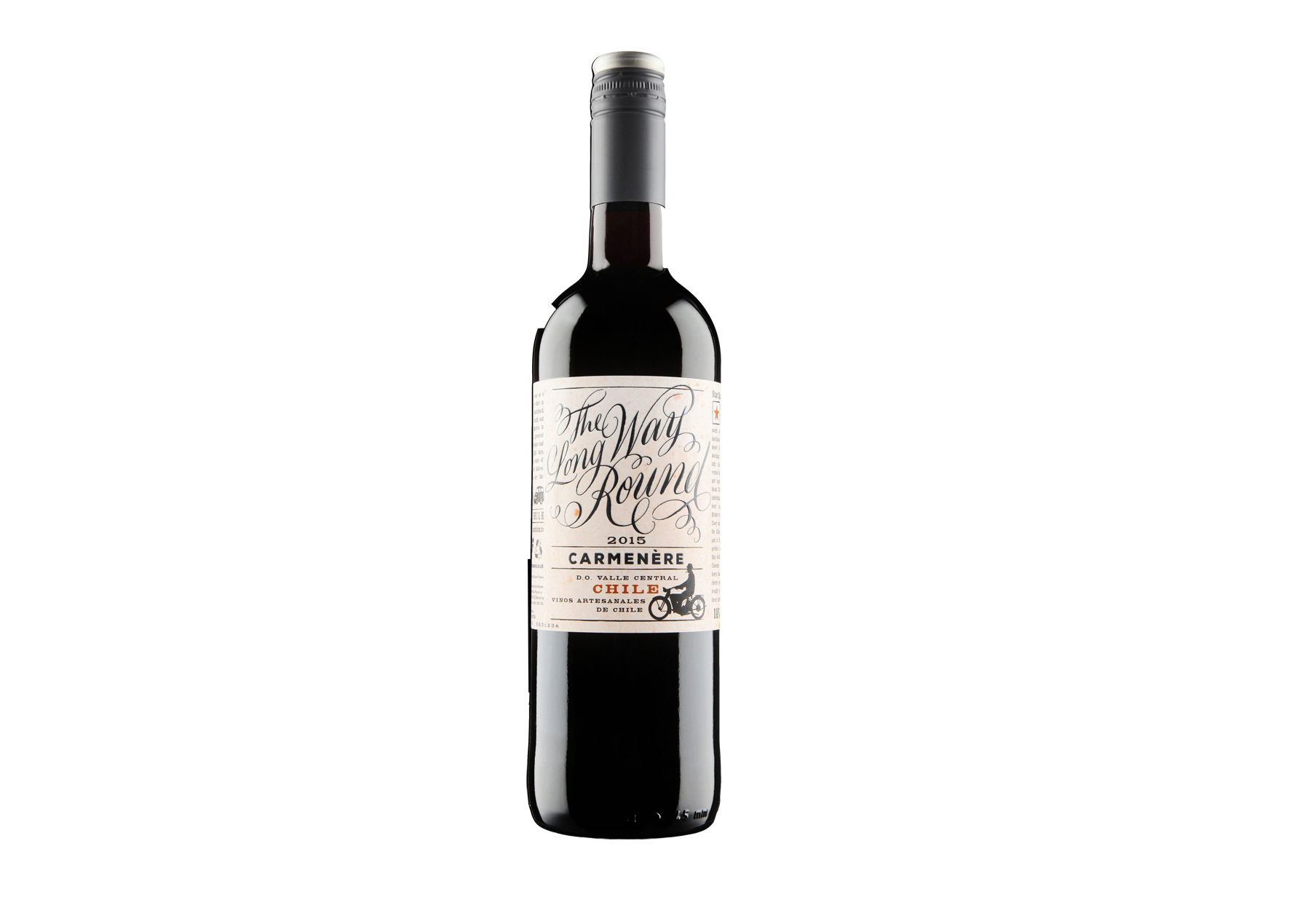 Bottle of The Long Way Round Reserve Carmenère