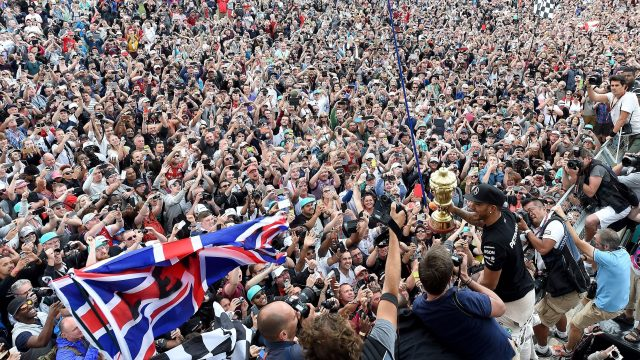 The British Grand Prix at Silverstone attracts 120,000 fans every year