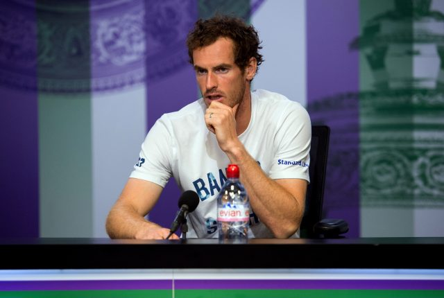 Defending champion Andy Murray knocked out of Wimbledon