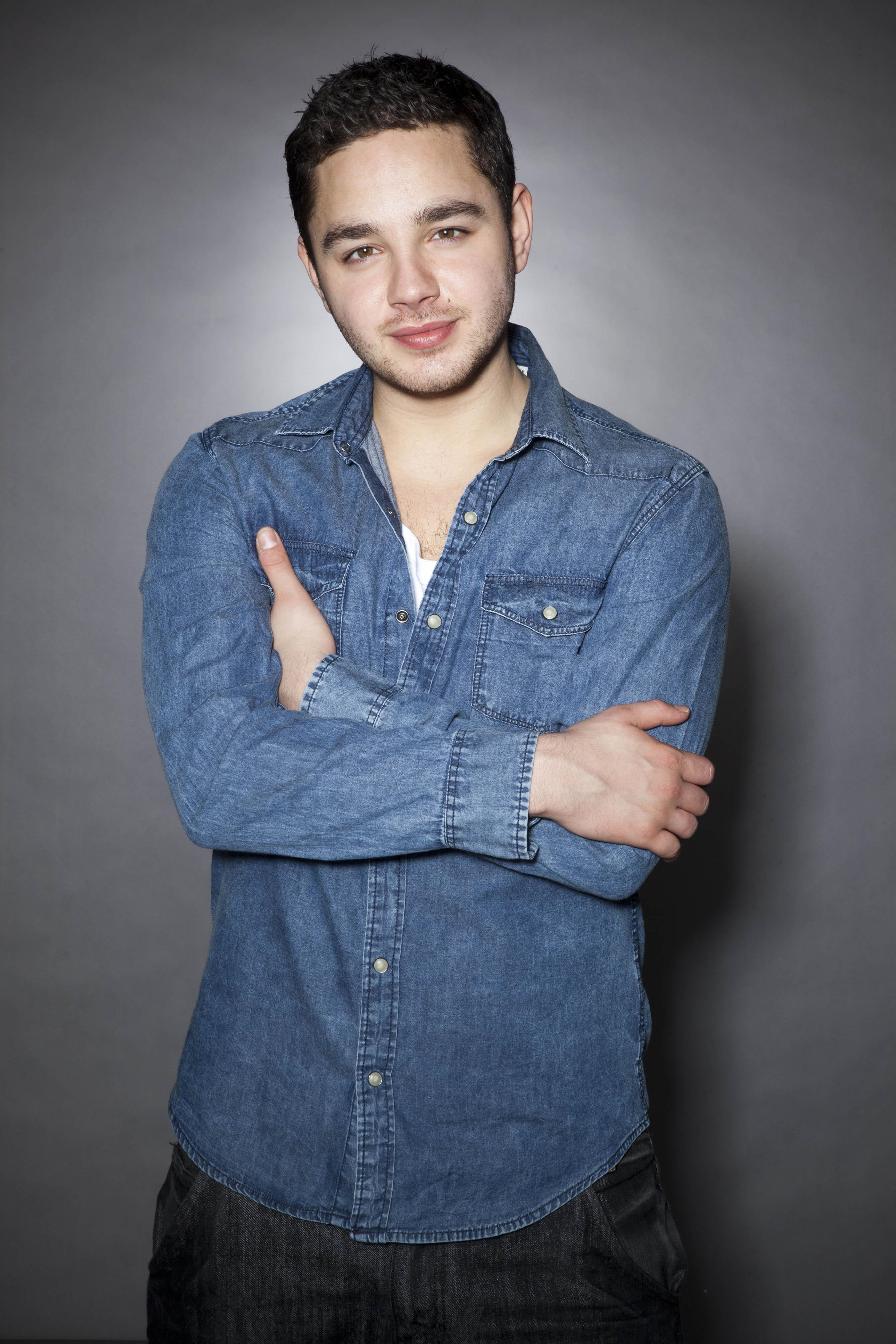 Adam Thomas plays Adam Barton in Emmerdale (ITV)