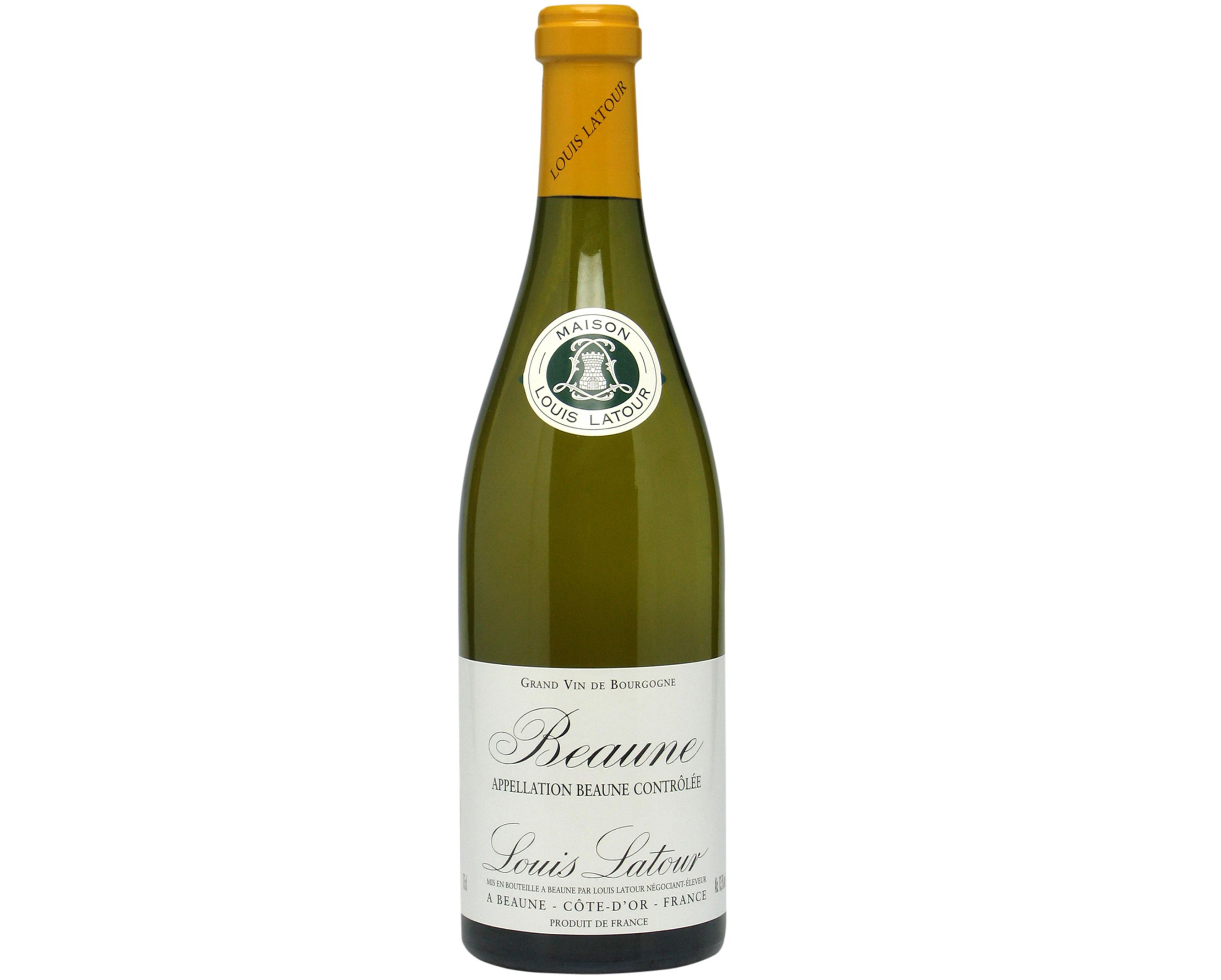 Bottle of Louis Latour White Burgundy