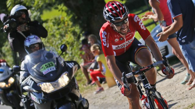 Thomas De Gendt didn't regret his tactics on stage 14