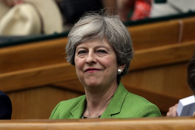 Theresa May saw her Commons majority wiped out in last month's general election