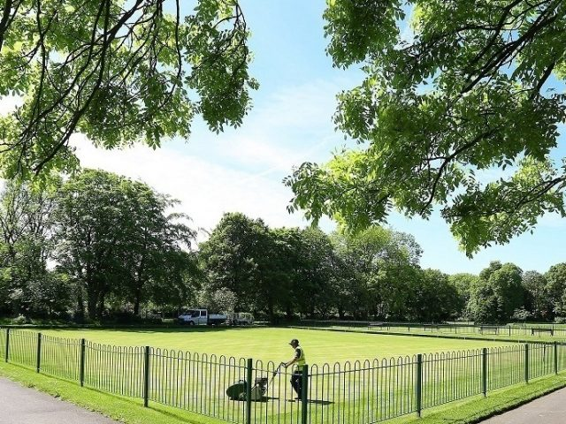Hirst Park in Ashington (Heritage Lottery Fund/PA)