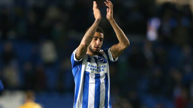 Goldson's last competitive game for Brighton was against Lincoln City in the FA Cup in January