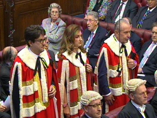 Baroness Karren Brady at the House of Lords (PA)