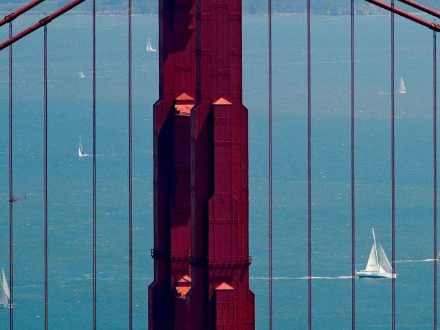 San Francisco's Golden Gate Bridge (Noah Berger/PA)