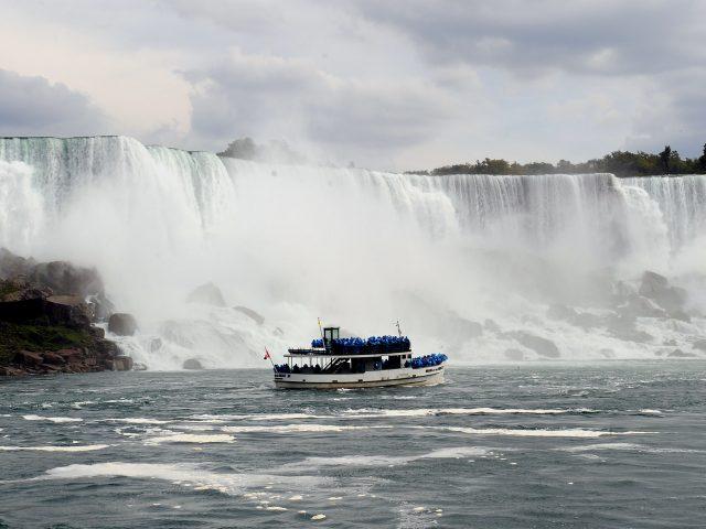 The Niagara Falls in the US (Ian West/PA)