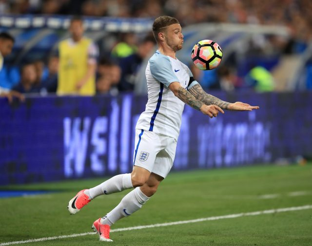 Trippier made his international debut in England's defeat in France