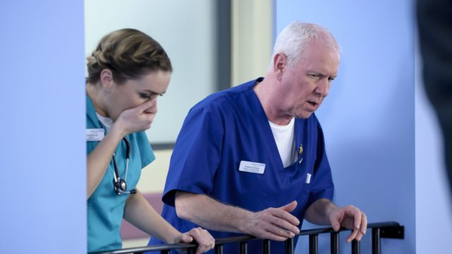 Casualty star Derek Thompson (BBC/Adrian Heap)