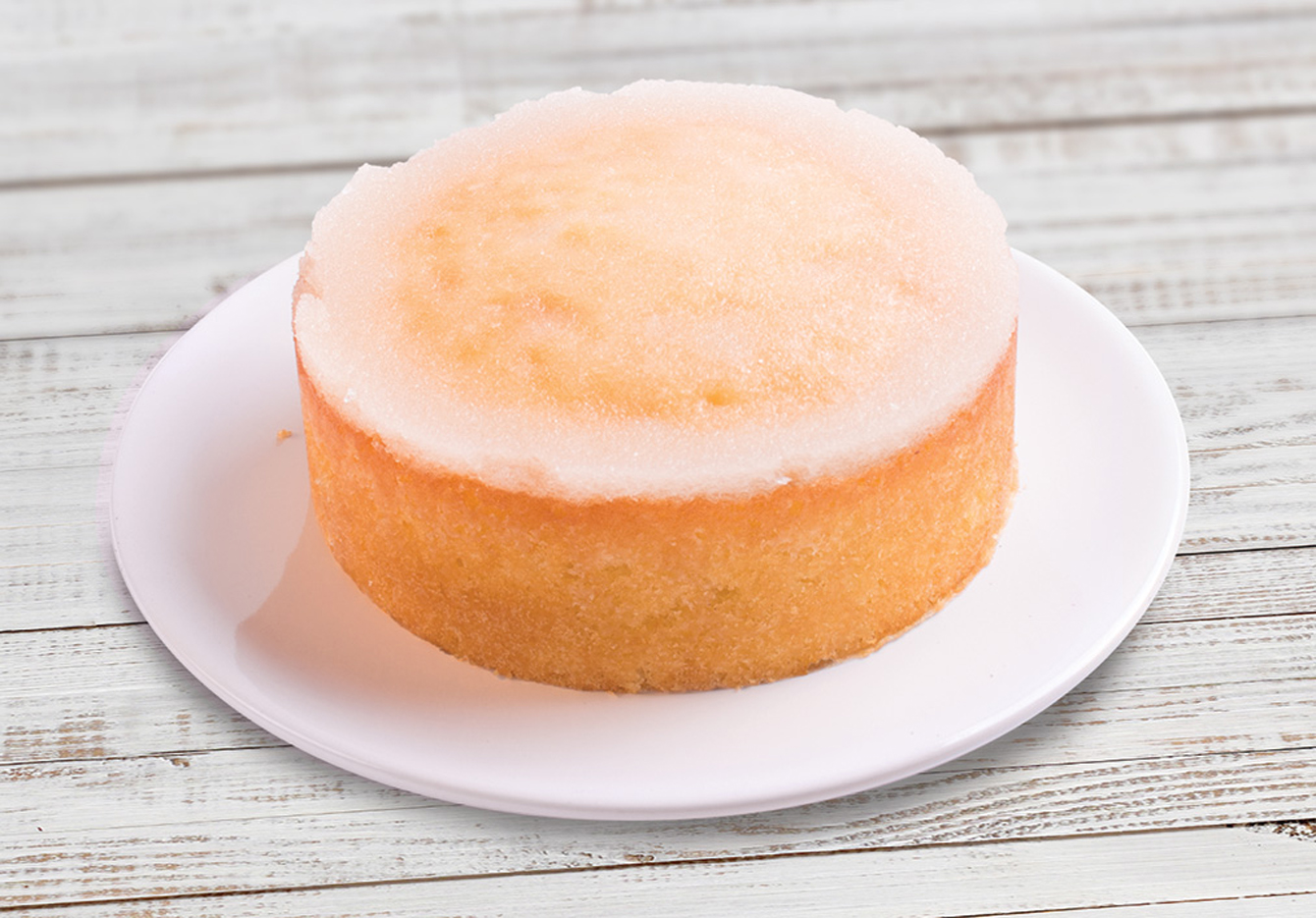 Mary Berry's lemon cake (Finsbury Food Group/PA)