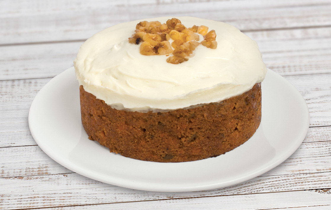 Marry Berry carrot cake (Finsbury Food Group/PA)