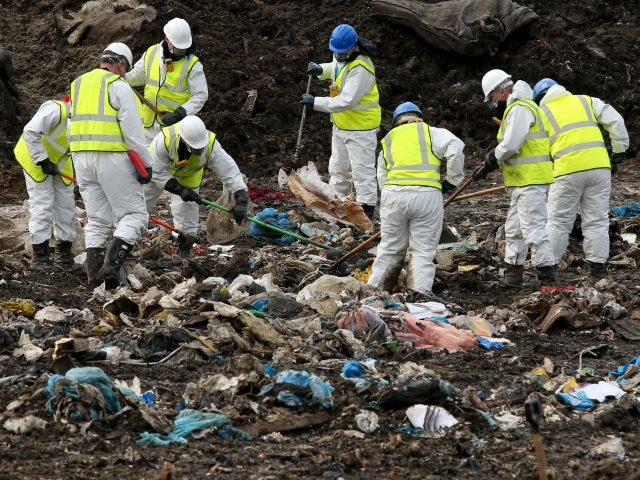 Police have searched a landfill site in Milton for missing RAF gunner Corrie McKeague (Chris Radburn/PA)