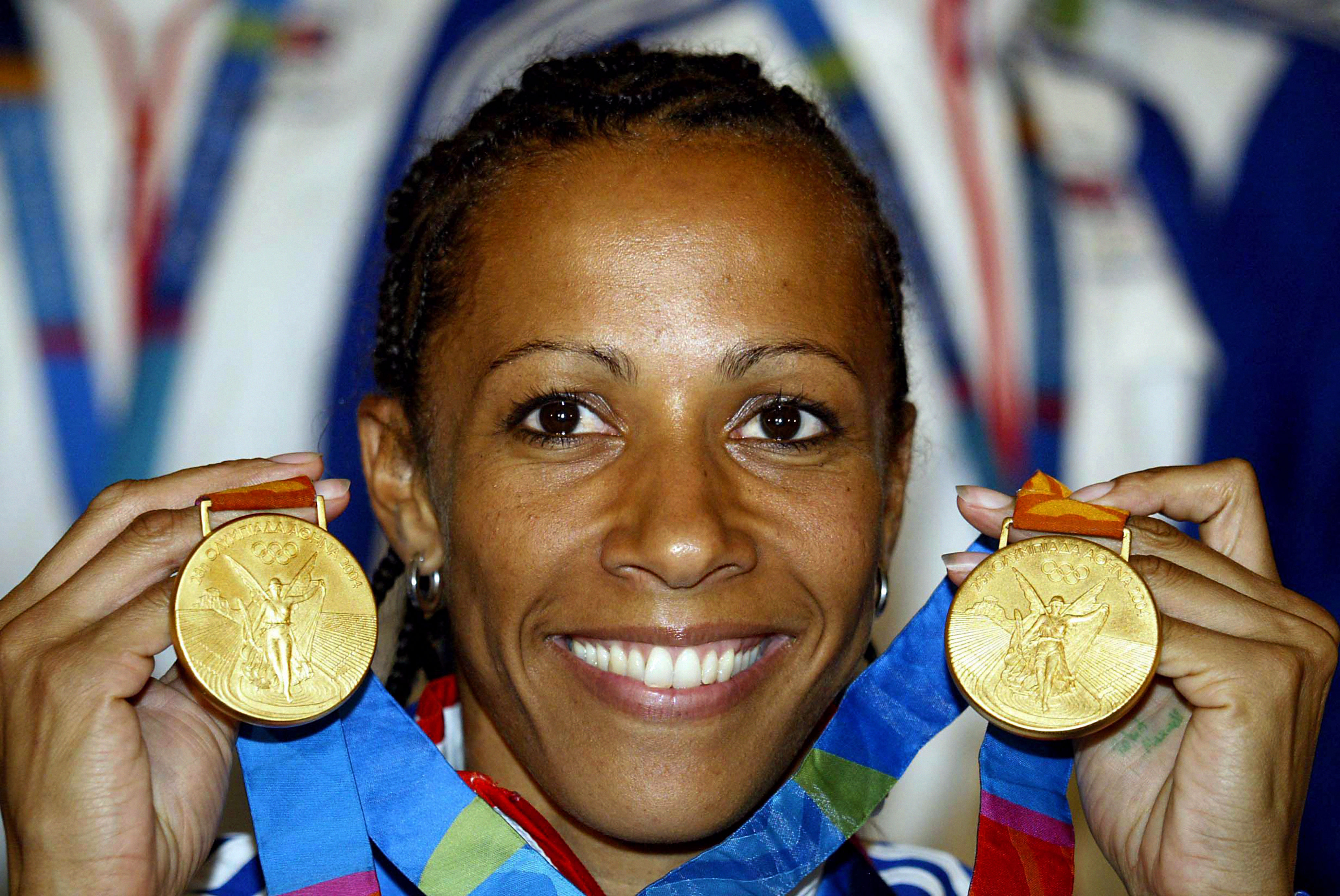 Double Olympic champion Kelly Holmes