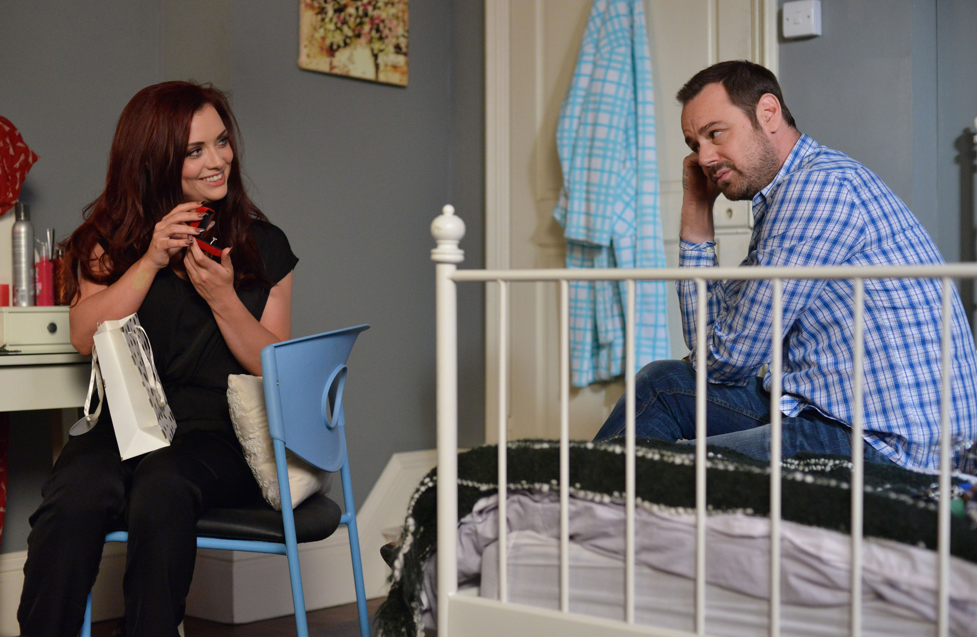 EastEnders Whitney and Mick