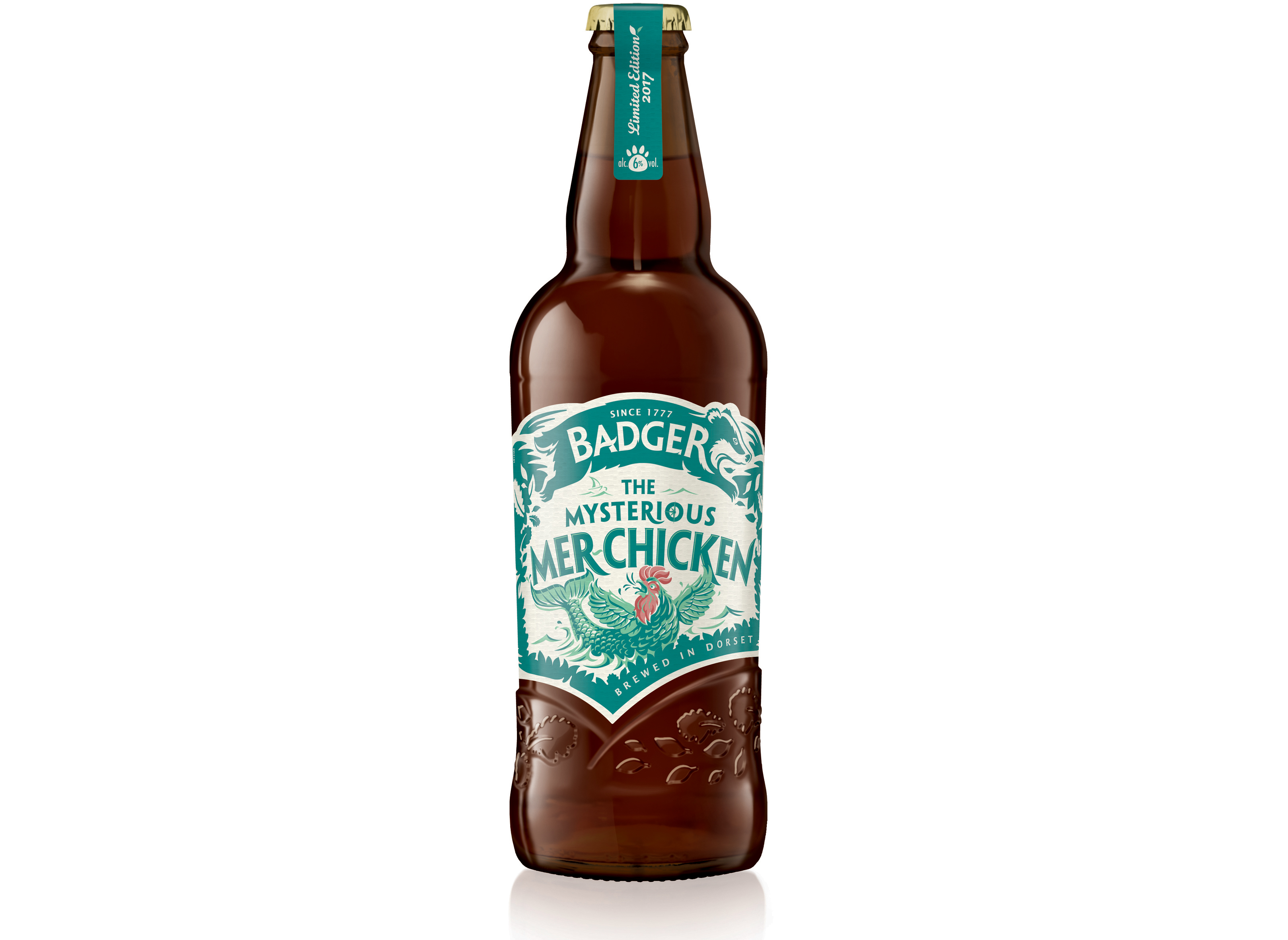 Badget Ales' new limited edition Mer-chicken beer, Booths