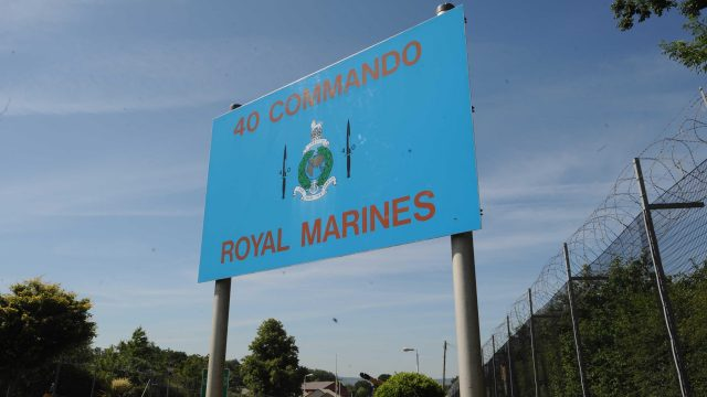 Ciaran Maxwell joined 40 Commando at Norton Manor Camp in Taunton in 2011