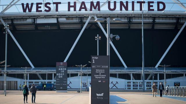 West Ham United's ground was also raided in April
