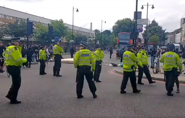 Protests, riots in London after black man dies in police custody