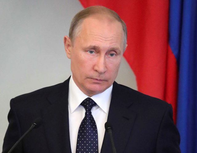 Putin Says He's Ordering 755 American Diplomats Out of Russia