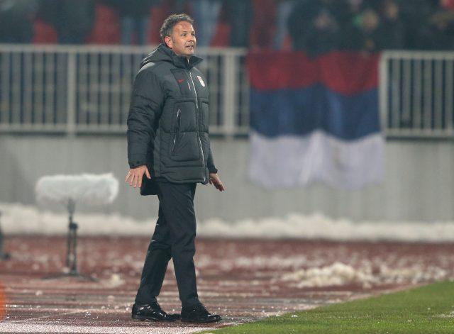 Serbia manager Sinisa Mihajlovic