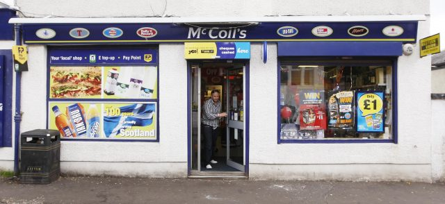 McColl's boosted its estate by snapping up 298 Co-op stores (PA)