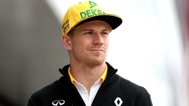 Nico Hulkenberg looks set to stay at Renault