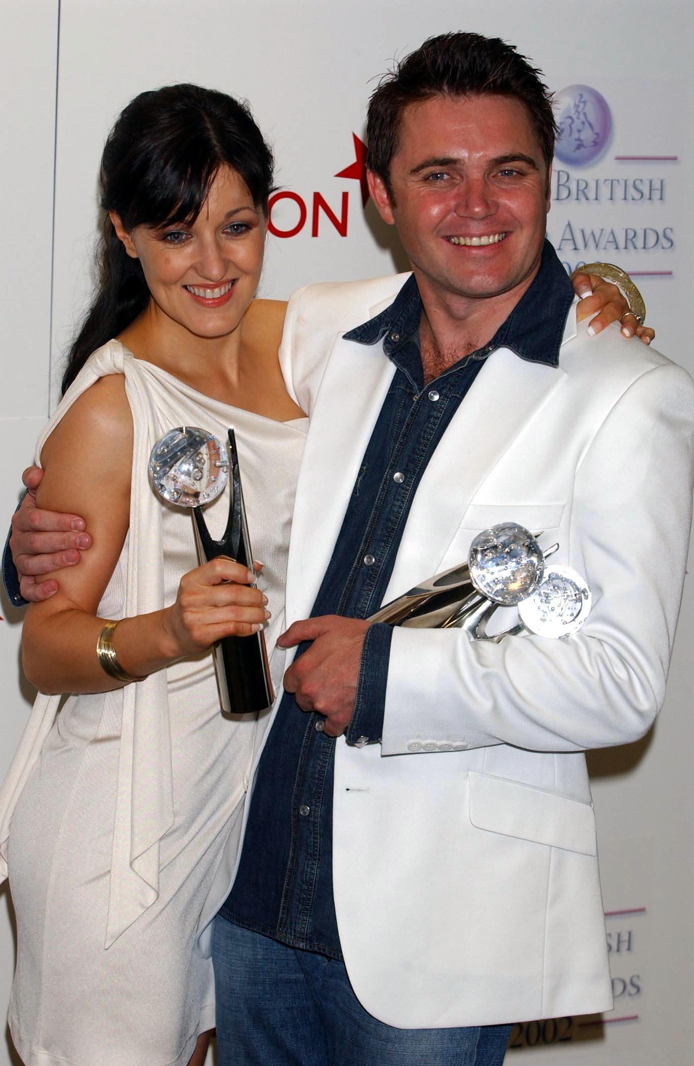 Kacey Ainsworth and Alex Ferns