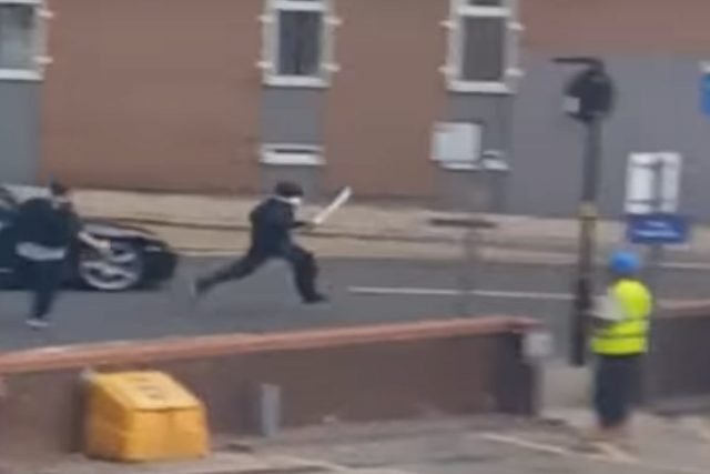 Police chase Iryan Brown