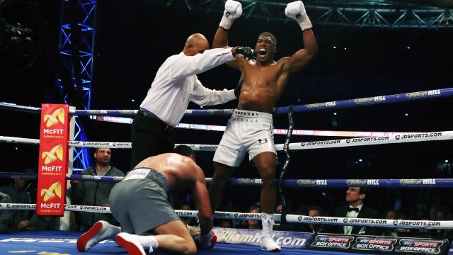 The rematch between Anthony Joshua and Wladimir Klitschko could take place on November 11 in Las Vegas