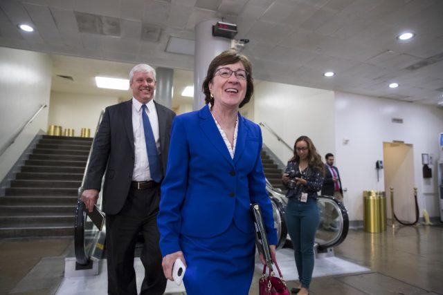 Republican senators reject Trump's blaming Congress for ...