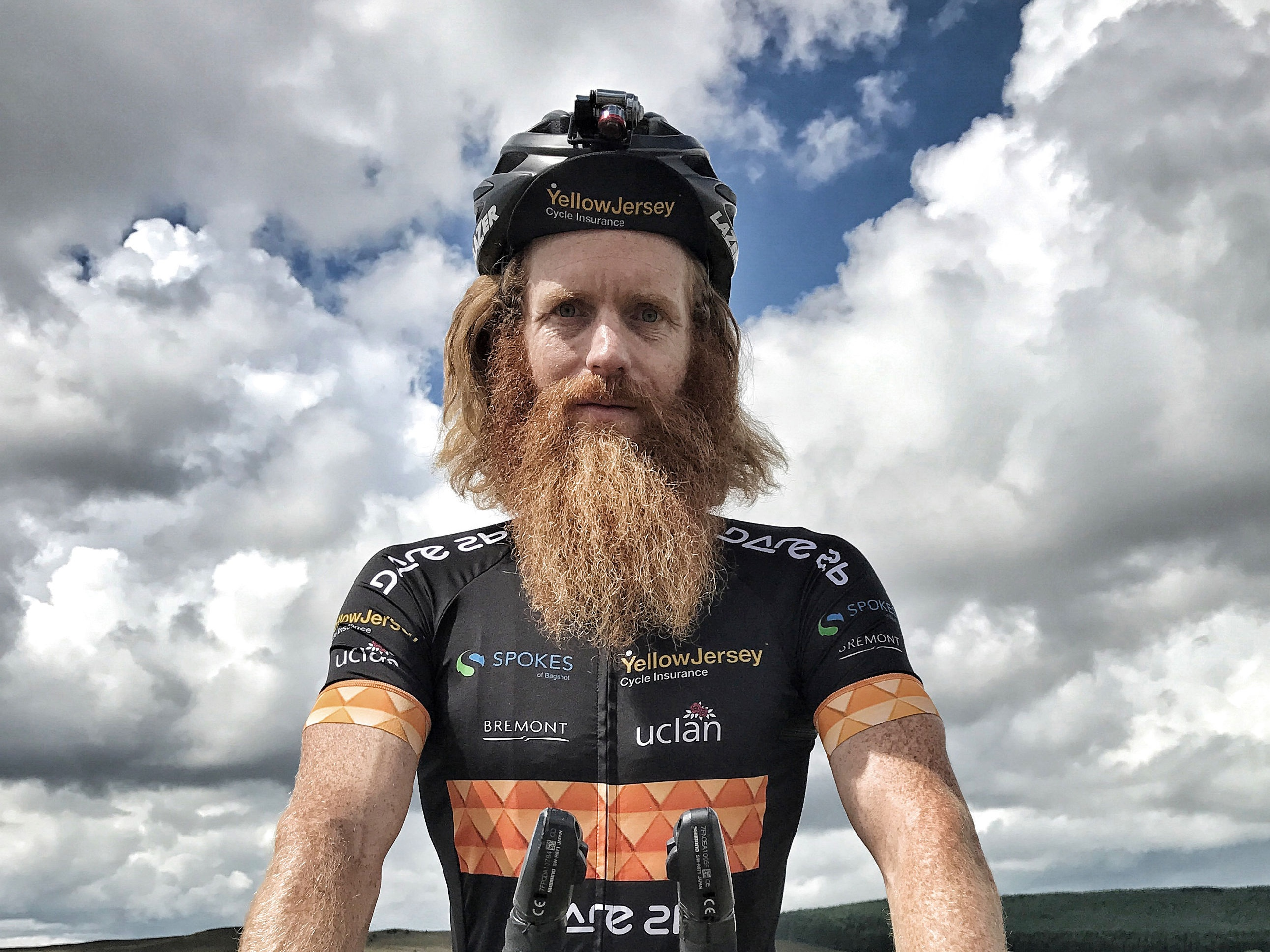 Sean Conway, who will attempt to break the Guinness World Record for the fastest crossing of Europe by bicycle