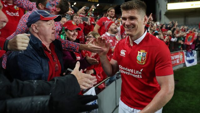 Owen Farrell is one of eight England players involved in the Lions tour to be rested