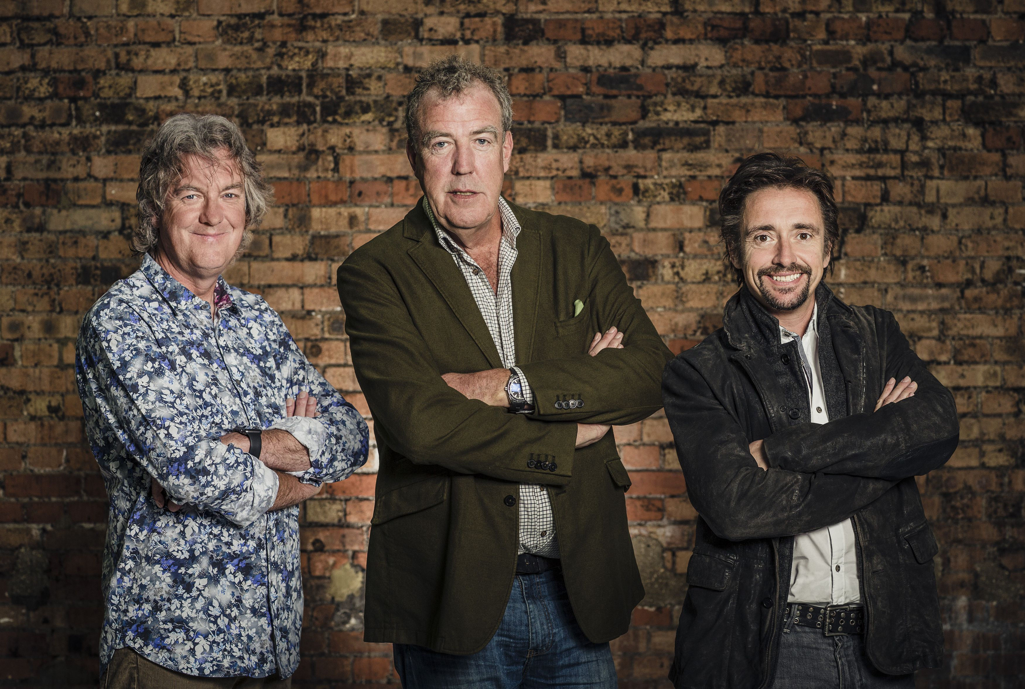 James May, Jeremy Clarkson and Richard Hammond (Amazon Prime Video/Press Association Images)