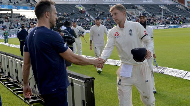 Captain Joe Root was seven the last time South Africa lost a series in England