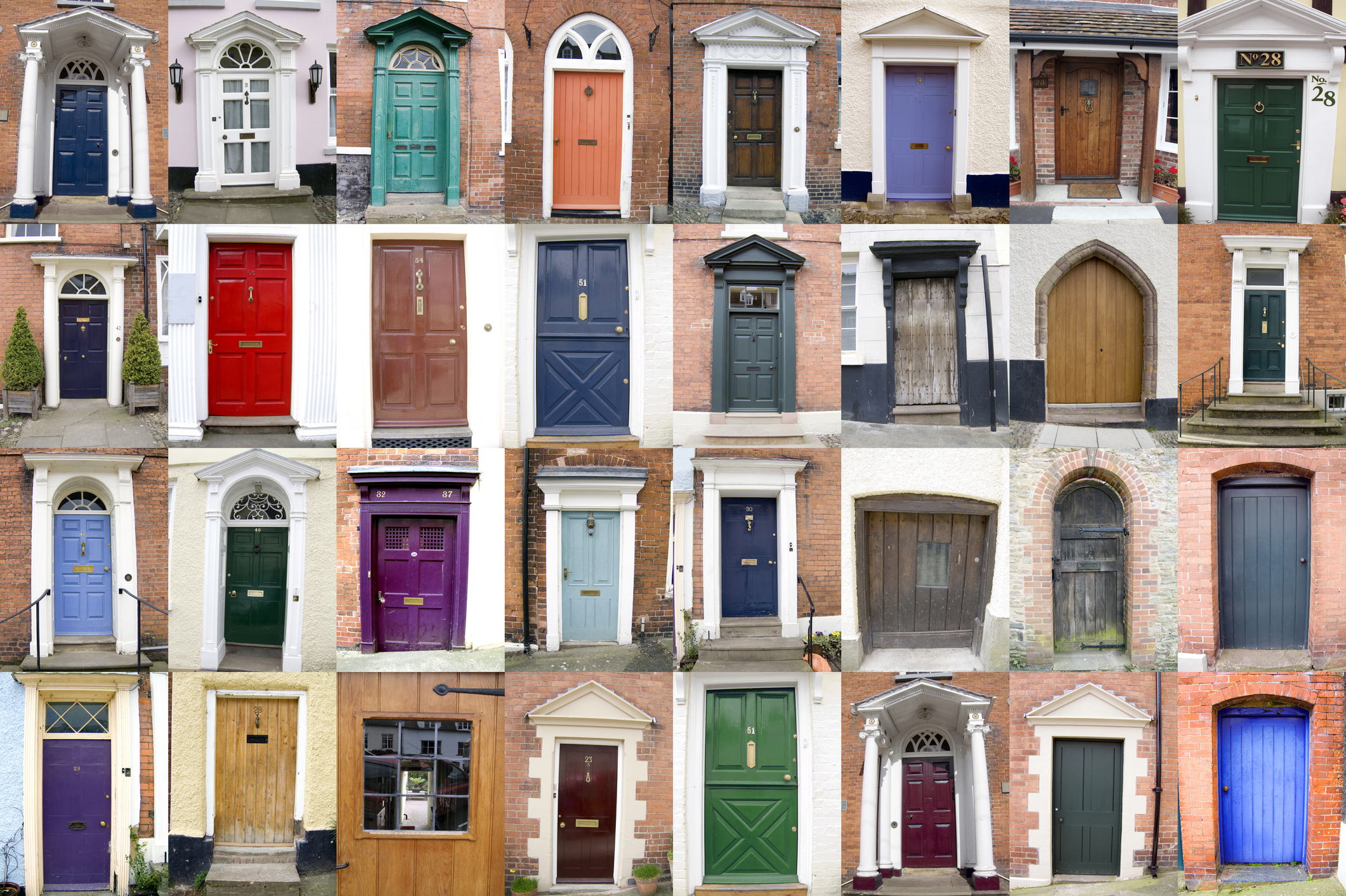 Front doors come in all shapes, sizes and colours (Thinkstock/PA)