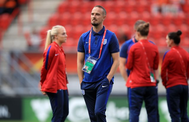 England manager Mark Sampson