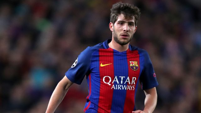 Chelsea manager Antonio Conte is keen to sign Sergi Roberto from Barcelona