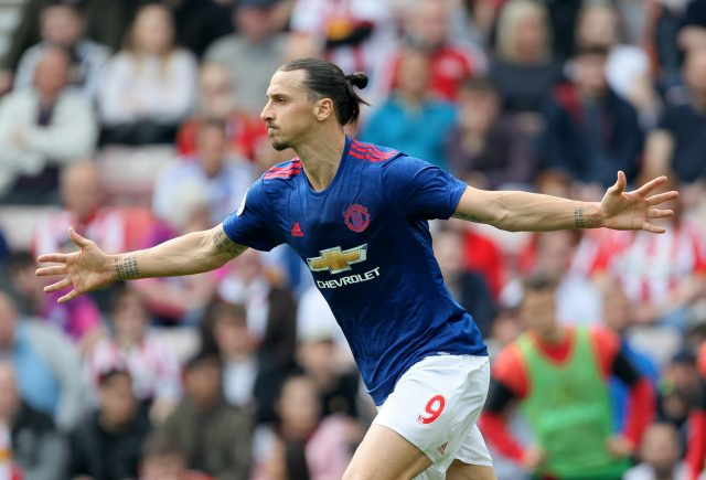 Zlatan Ibrahimovic (Richard Sellers/Empics)
