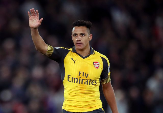 Alexis Sanchez (Nick Potts/PA)
